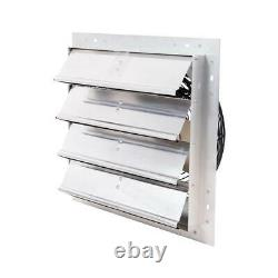 16 Exhaust Fan Electric Variable Speed Adjustable 1100 CFM Auto Shutter Fans