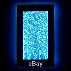 300WM 30 Wall Mount Bubble Wall LED Indoor Fountain Water Feature