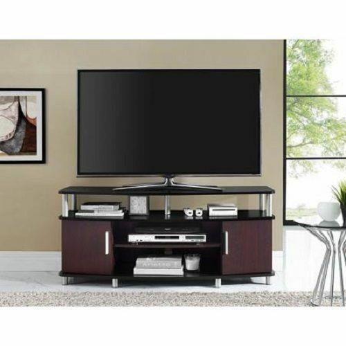 50 Inch Flat Screen Modern Tv Stand Entertainment Home Media Center Console Rack
