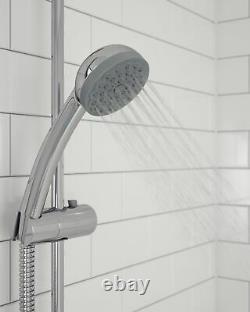 Bristan Zing Thermostatic Cool Touch Shower Bar Valve Exposed Mixer Handset