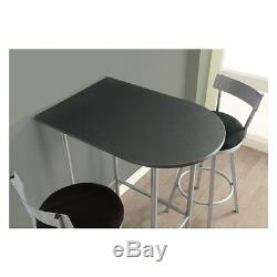 Counter Height Table Only Small Apartment Furniture Space Saver Dorm Bar Side