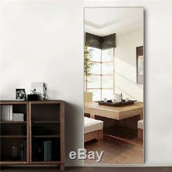 Full Length Mirror Leaning Mirrors Wall Mounted Standing Floor Framed Mirrors