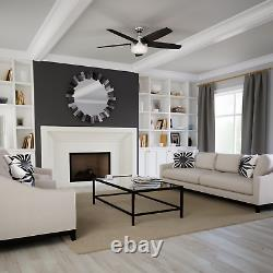 Hunter 54 Avia Ceiling Fan with LED Light Remote Control Modern Casual Indoor