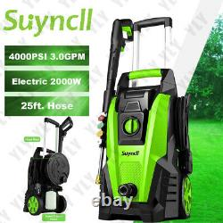 MAX 4000PSI 3.0GPM Electric Pressure Washer Cleaner Cold Water Sprayer Machine