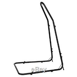 Metal Heavy Duty Adjustable Hanging Hammock Chair Porch Swing Stand Portable New