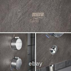 Mira Galena Electric Shower 9.8kW Clearscale Power Slate Effect 1.1634.117