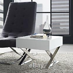 Modway Sector Nightstand in White