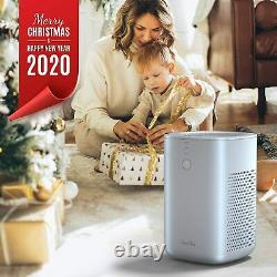 Quiet Air Purifier Cleaner True HEPA Home Air Purifier with 2 True Carbon Filter