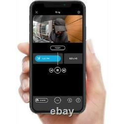 Ring Video Doorbell 2nd Gen Motion Activated Two Way Talk Camera All New Bronze