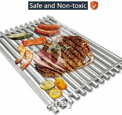 Stainless Steel Grill Bbq Cooking Grids Replacement Parts New For Weber Genesis