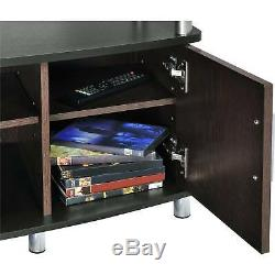 TV Stand Center Media Cabinet Console Table Storage Modern Entertainment Flat